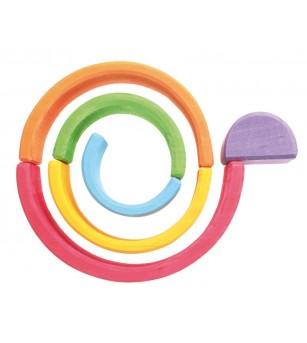 Set Curcubeu, 6 piese - Jucării de lemn si Montessori