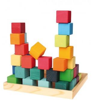 Cuburi Mozaic, mediu - Jocuri construcție