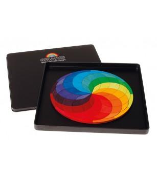 Spirala culorilor - puzzle magnetic - Jucarii magnetice