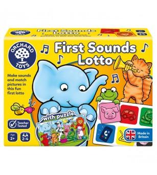 Joc educativ loto Orchard Toys - Primele sunete - Jocuri de observație și atenție