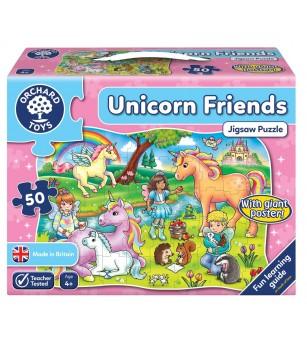 Puzzle Prietenii Unicornului UNICORN FRIENDS - Puzzle-uri