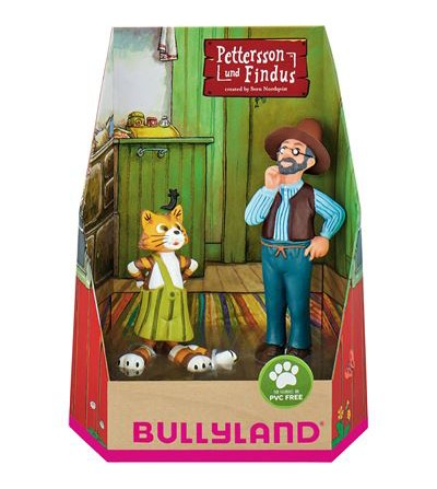 Set figurine Findus si Pettsson -Bullyland - Figurine