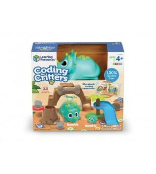 Joc codare - Dinozaurii jucausi - Jocuri STEM