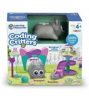 Joc codare - Pisicutele jucause - Jocuri STEM