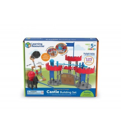 Set STEM Learning Resources - La castel - Jocuri construcție