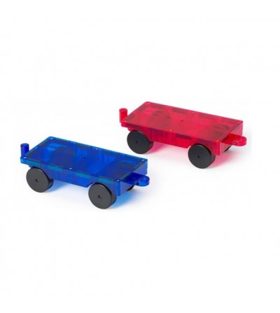 Set Playmags - 2 baze vehicul magnetice - Jucarii magnetice