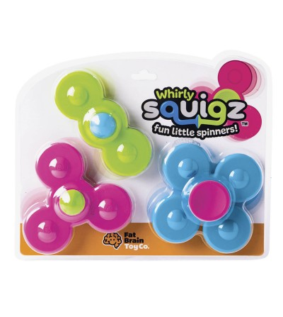 Jucarie bebelusi Fat Brain Toys - Whirly Squigz