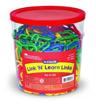 Linknlearn - verigi 4 culori set 500 - Matematică