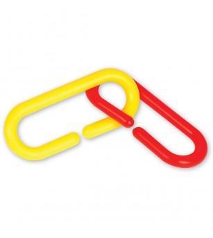 Linknlearn - verigi 4 culori set 500 - Jucării matematică