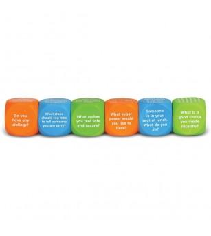 Cuburi pentru conversatii - Descoperim emotiile - Jucării limbaj