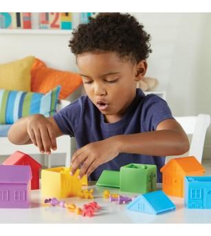 Joc de sortare - Oraselul vesel - Jucării de lemn si Montessori