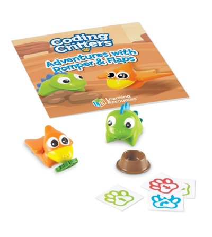 Joc codare - Aventurile dinozaurilor