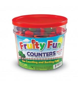 Set de sortat - Fructe (108 piese) - Jucării matematică