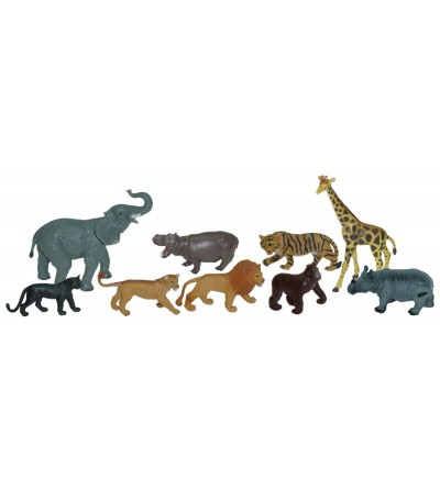 Set de 9 figurine Miniland - Animale salbatice - Figurine