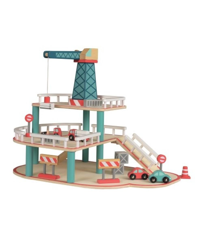 Garaj cu macara si vehicule, Egmont - Vehicule de jucărie