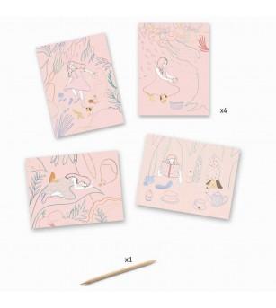Joc creativ de razuit Picnic in natura - Lucru manual