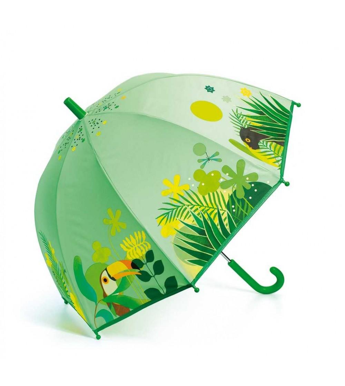 Umbrela colorata Djeco Jungla - Umbrele copii