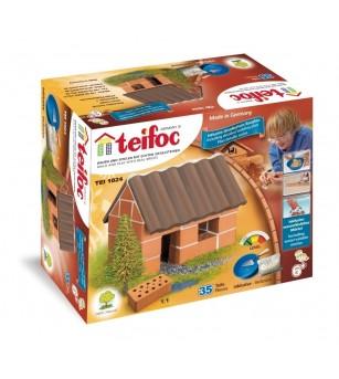 Kit de constructie Teifoc - Casuta de familie - Jocuri construcție