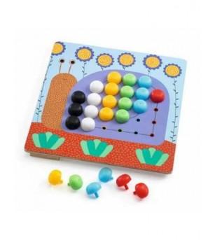 Mosaic primo Djeco - Jucării creativ-educative