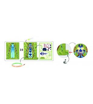 Atelier Arta, Stiinta si Tehnologie Djeco, Insectarium - Știință și tehnică