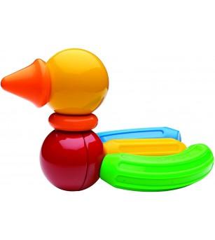 Set cu magneti Stick-O, Basic 10 piese - Jucarii magnetice