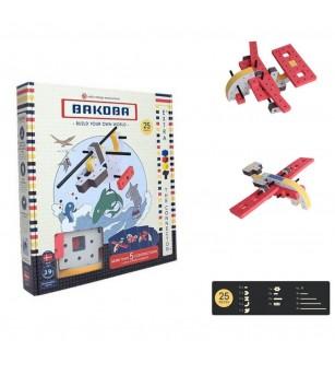 Set Bakoba Building Box 1 - 25 piese - Jocuri construcție