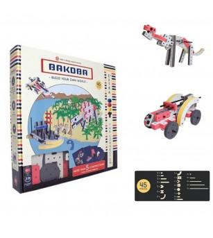 Set Bakoba Building Box 4 - 45 piese - Jocuri construcție