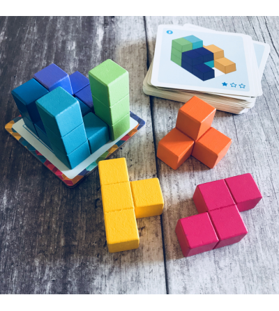 Joc de logica Cubissimo Djeco - Jucării logică