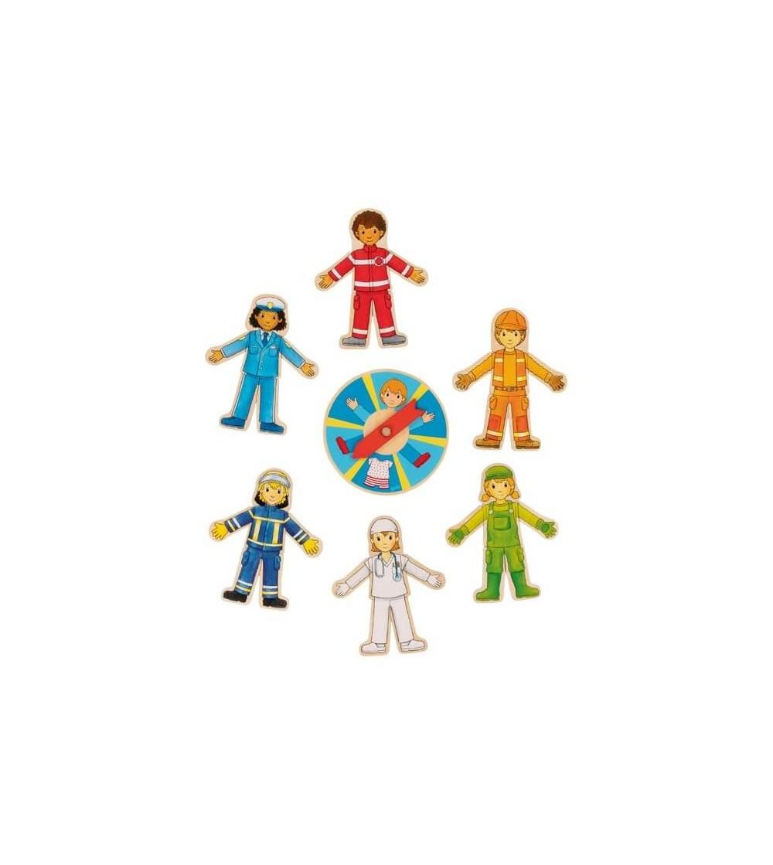 Puzzle din lemn Goki Cariere - Puzzle-uri