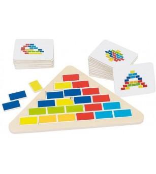 Puzzle Goki Triunghi - Jucării de lemn si Montessori