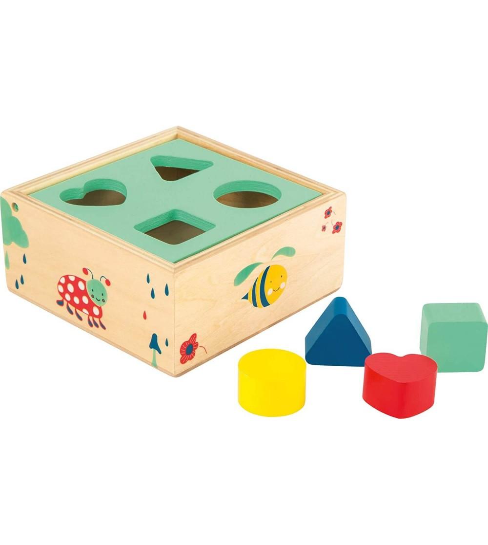 Cub de sortat, Legler Small Foot - Jucării de lemn si Montessori