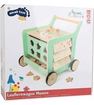 Premergator cu activitati, Legler Small Foot - Jucării de lemn si Montessori