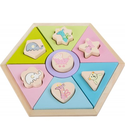 Puzzle din lemn Small Foot