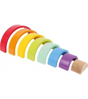 Curcubeu Legler Small Foot mediu - Jucării de lemn si Montessori
