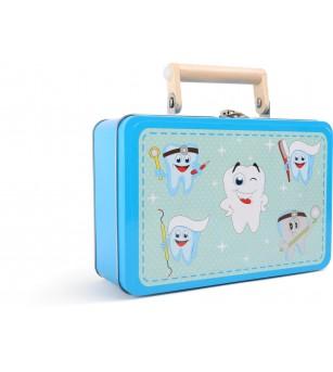 Set de joaca Legler Small Foot, Trusa dentistului - Truse de medic pentru copii