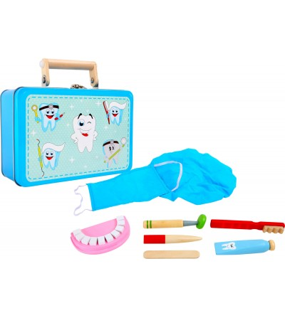 Trusa dentistului Small Foot - Doctor