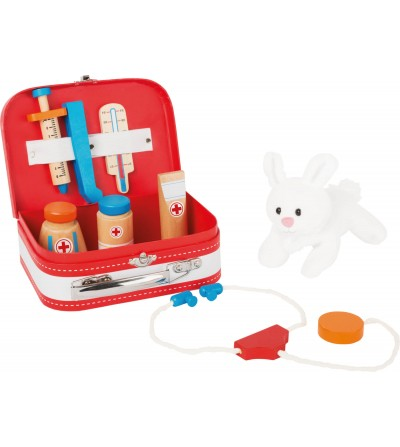 Set de joaca Legler Small Foot, Trusa medic veterinar - Doctor