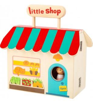 Magazin in cutie, Legler Small Foot - Jucării de lemn si Montessori