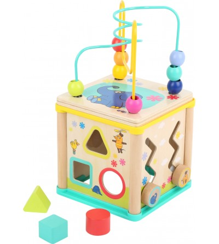 Cub de activitati Legler Small Foot, Elefantul - Jucării de lemn si Montessori