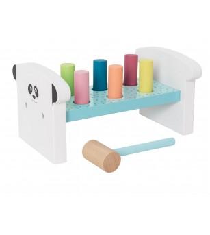 Joc ciocan din lemn, JaBaDaBaDo - Jucării de lemn si Montessori