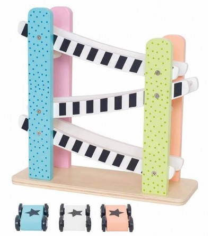 Traseu masini din lemn, JaBaDaBaDo - Jucării de lemn si Montessori