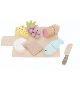 Set Tapas din lemn, JaBaDaBaDo - Bucătărie copii