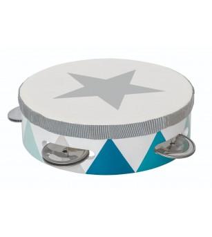 Tamburina JaBaDaBaDo, albastra - Instrumente muzicale