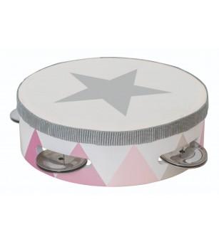 Tamburina JaBaDaBaDo, roz - Instrumente muzicale