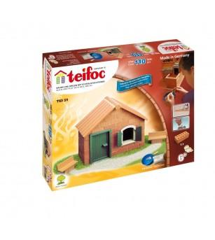 Kit de constructie Teifoc - Casuta Starter Set - Jocuri construcție
