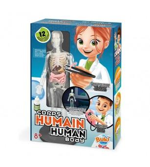 Joc educativ Buki France - Corpul uman - Corpul uman