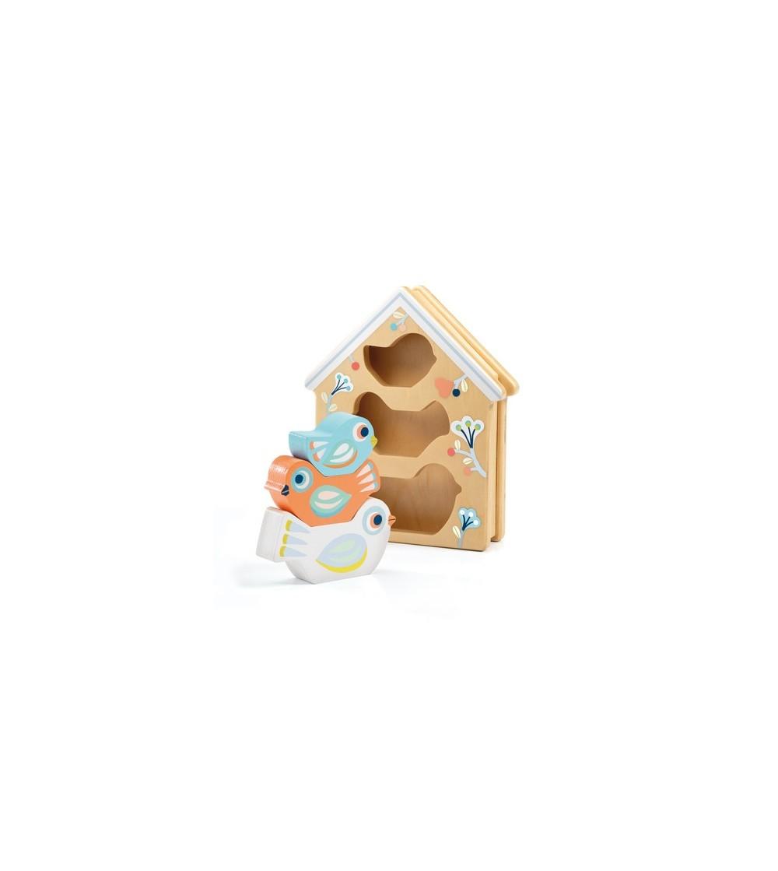 Jucarie din lemn Djeco, BabyBirdi - Jucării de lemn si Montessori