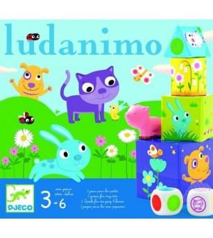 Ludanimo, colecție de jocuri Djeco - Jucării de lemn si Montessori