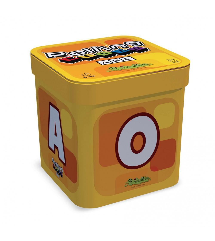 Joc cu zaruri-ABC, formeaza cuvinte - Jucării limbaj