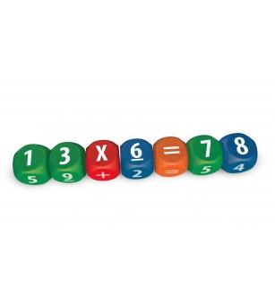 Joc cu zaruri-Pitagora - Jucării matematică